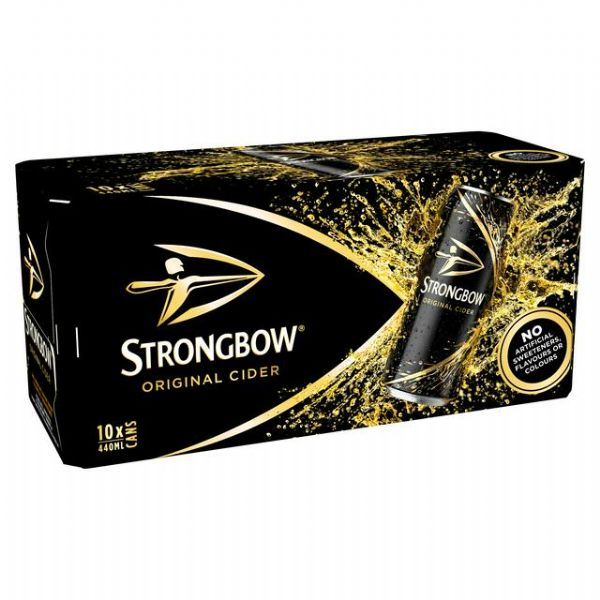 Strongbow Cider 10x440ml